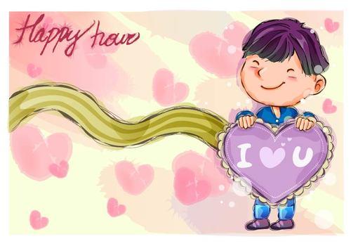 Children illustrator vector
