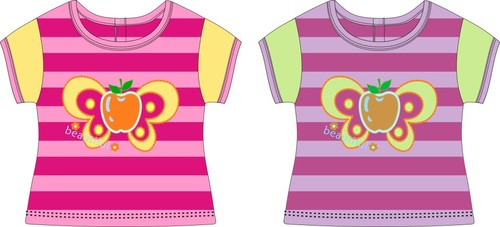 Childrens clothing style pattern design vector