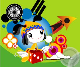Childrens story illustrator vector