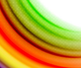 Colored wave with light dot background vector