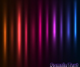 Colorful damask background vector material