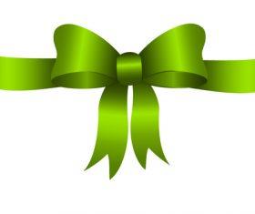Creative bows design vector material 07