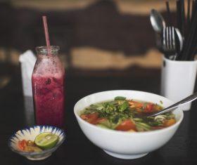 Delicious traditional vietnamese cuisine Stock Photo