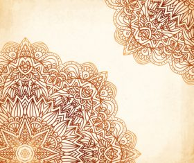 Ethnic new background vector material 02