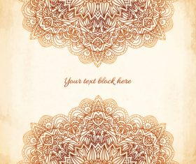 Ethnic new background vector material 03