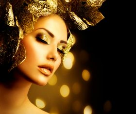 Fashion make-up woman art photo Stock Photo 05