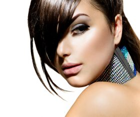 Fashion make-up woman art photo Stock Photo 07