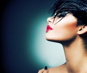 Fashion make-up woman art photo Stock Photo 08