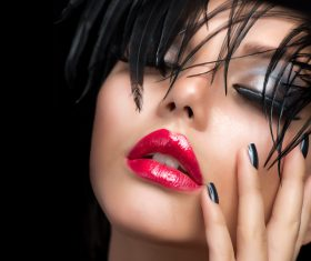 Fashion make-up woman art photo Stock Photo 10