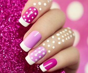 Fashion nail cosmetology Stock Photo 03
