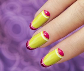 Fashion nail cosmetology Stock Photo 05