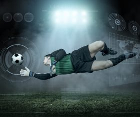 Football goalkeeper Stock Photo 05