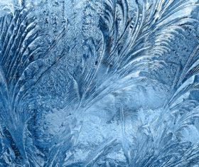 Frozen Window Background Textures Stock Photo 08
