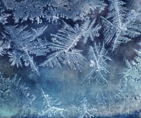 Frozen Window Background Textures Stock Photo 09