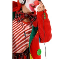 Funny amuse clown Stock Photo 02