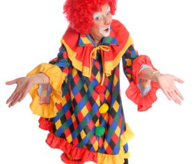 Funny amuse clown Stock Photo 06
