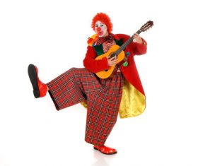 Funny amuse clown Stock Photo 11