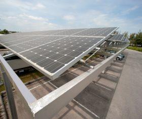 Green Energy Solar Panel Stock Photo 01