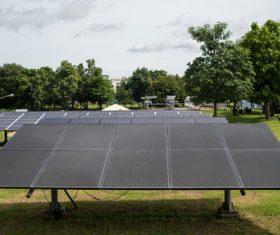 Green Energy Solar Panel Stock Photo 02