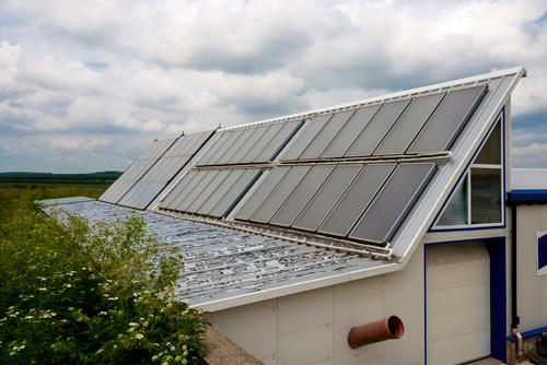 Green Energy Solar Panel Stock Photo 03