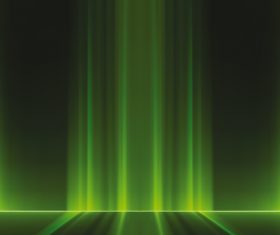 Green light lines background vectors