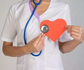 Heart doctor Stock Photo
