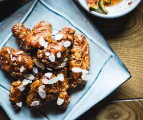 Korean fried chicken Stock Photo 02