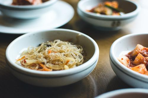 Korean mixed vegetables Stock Photo 01