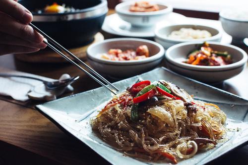 Korean mixed vegetables Stock Photo 02
