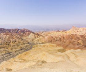 Large rocky mountain landscape Stock Photo