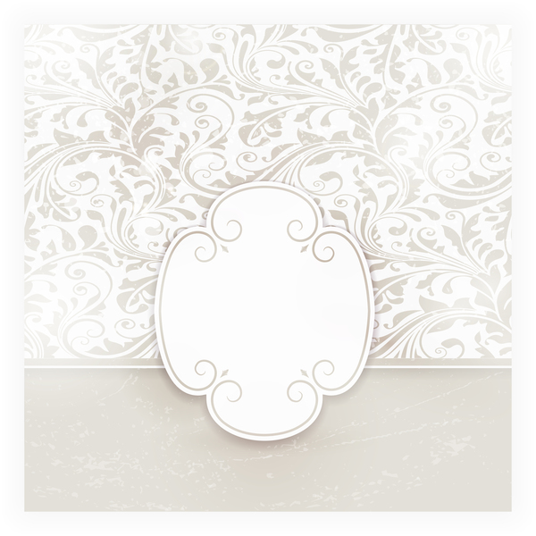Light colored decorative background vector