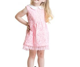 Little girl wearing high heels Stock Photo 02