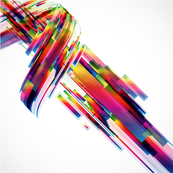 Messy abstract background design vector 02