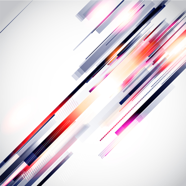 Messy abstract background design vector 06