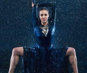 Modern dance performance artist Stock Photo 06