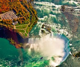 One of the worlds natural wonders Niagara Falls Stock Photo 02