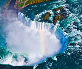 One of the worlds natural wonders Niagara Falls Stock Photo 06