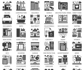 Perfect Line icons – Real Estate