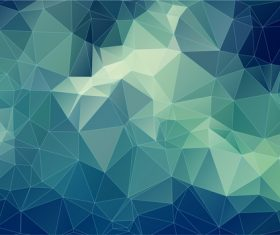 Polygonal geometric shapes abstract vector background 06