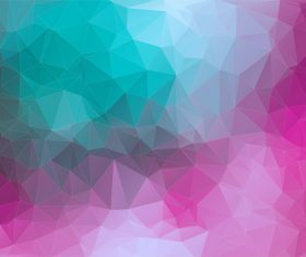 Polygonal geometric shapes abstract vector background 07