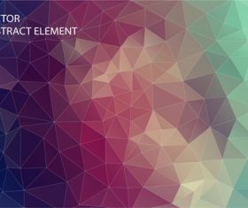 Polygonal geometric shapes abstract vector background 08