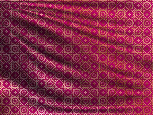 Ramadan styles fabric pattern vector material 01