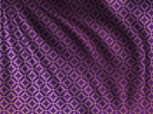 Ramadan styles fabric pattern vector material 05