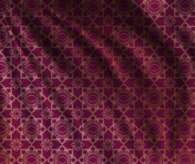 Ramadan styles fabric pattern vector material 07