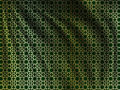 Ramadan styles fabric pattern vector material 10