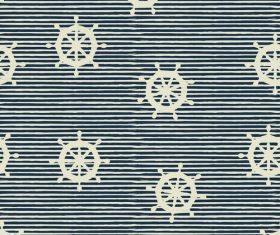 Rudder seamless pattern vintage vector 04