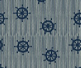 Rudder seamless pattern vintage vector 05