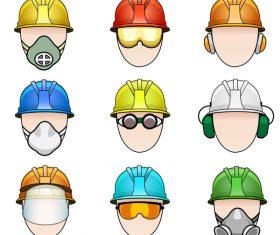 Safety hat design vector illustration