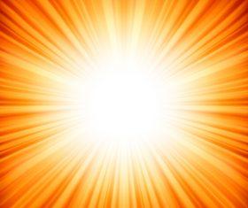 Shining sunlight background design vector