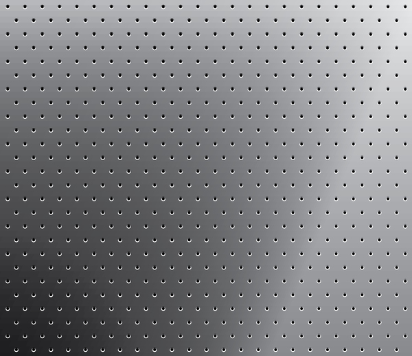 Silver metal background with hole vector 02